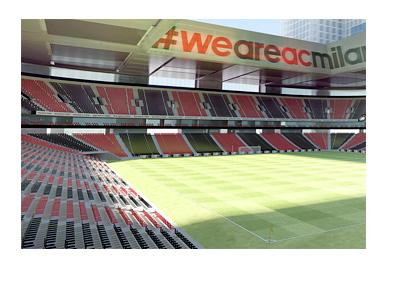 AC Milan new stadium proposal - Design - Arub Engineering - 3d Model