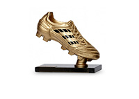 The Adidas Golden Boot Trophy - 2014 FIFA World Cup Top Goalscorer Award