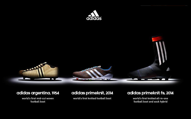 Adidas Argentina, Primeknit and Primeknit fs 2014 - football shoes