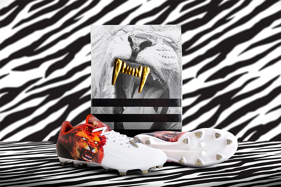 adidas and snoop dogg shoe - snoop lion cleat with golden grill