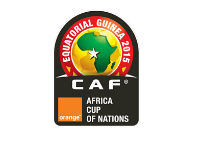 Orange Africa Cup of Nations - Equatorial Guinea 2015 - Tournament Logo / Badge
