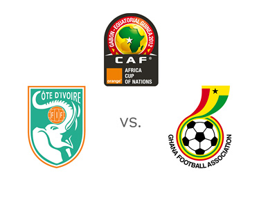 Africa Cup of Nations 2015 - Final Game - Ivory Coast vs. Ghana - Matchup, Odds, Preview, Team Logos, Badges, Crests