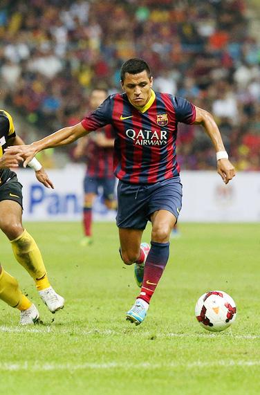 Alexis Sanchez - Barcelona FC - In Demand
