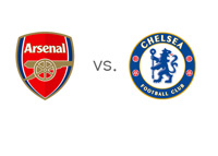 Arsenal vs. Chelsea - Matchup and Team Logos