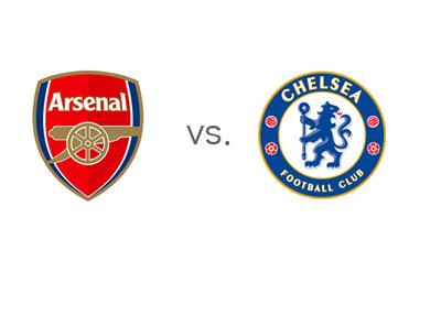 EPL Matchup - Arsenal vs. Chelsea - Team Logos