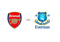 Arsenal vs. Everton - Matchup and Team Logos