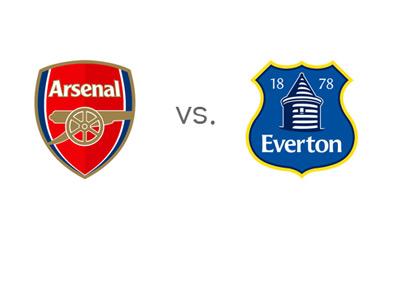 FC Arsenal vs. Everton FC - Football Matchup - Team Logos