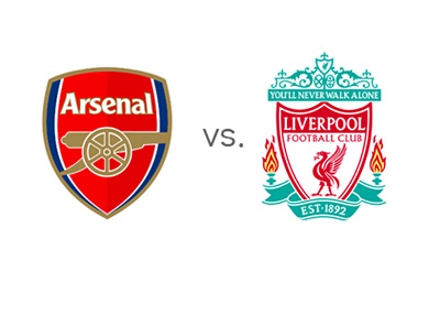 FA Cup Matchup - Arsenal vs. Liverpool - Team Logos