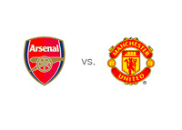 Arsenal vs. Manchester United - Matchup and Team Logos
