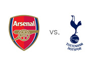 Arsenal FC vs. Tottenham Hotspur - Matchup and Team Crests
