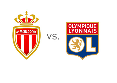 AS Monaco vs. Olympique Lyon - Matchup  - Preview - Head to Head - Team Logos / Badges / Crests