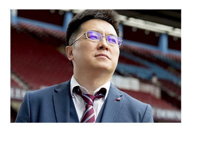 The unveiling of the new Aston Villa chairman / owner Dr. Tony Xia - Social media photoshoot