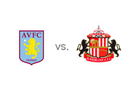 Aston Villa vs. Sunderland - Matchup and Team Logos