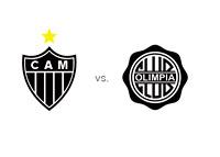 Copa Libertadores Final - Atletico Mineiro vs. Olimpia - Team Logos - Matchup