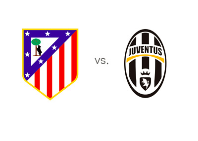 Matchup - Atletico Madrid vs. Juventus - Head to Head - Game Preview, team logos / badges / crests