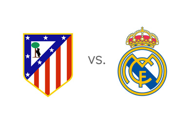 Preview - Atletico Madrid vs. Real Madrid - Matchup - Logos / Crets / Badges