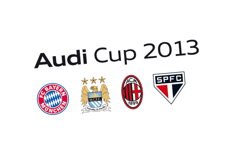 Audi Cup 2013 - Football Tournament - Logo