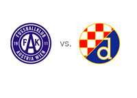 Austria Vienna vs. Dinamo Zagreb - Matchup and Team Logos