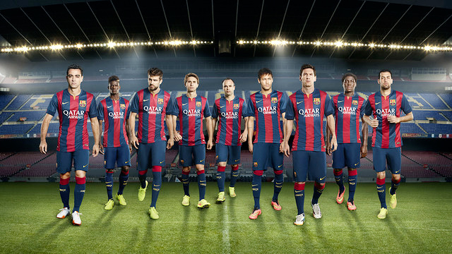 Barcelona FC 2014/15 Home Kit by Nike