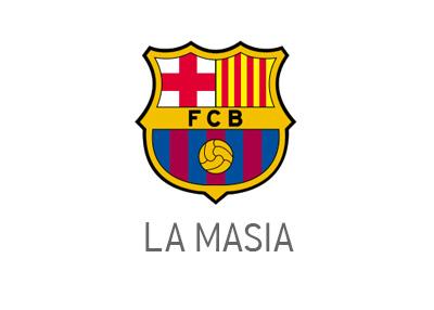 Barcelona FC - La Masia - Logo