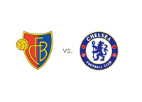 FC Basel vs. Chelsea FC - Matchup and Team Logos