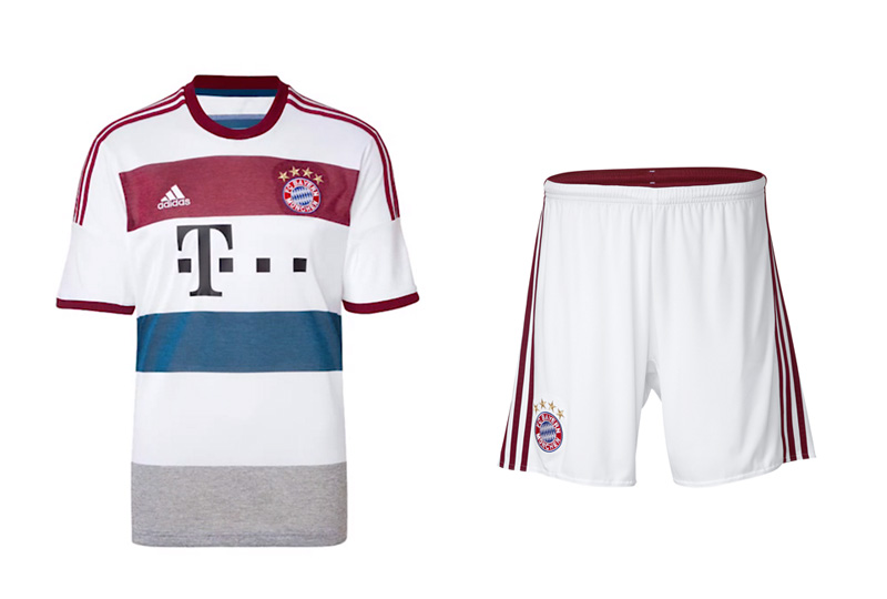 Bayern Munich 2014/15 Away Kit - Made by Adidas