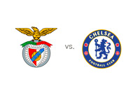 Benfica vs. Chelsea - UEFA Europa League final - Matchup and Team Logos