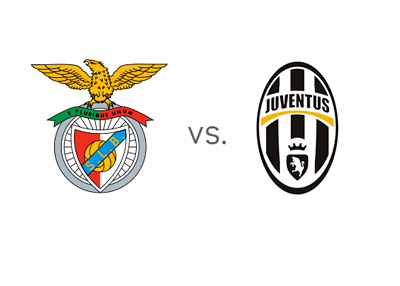 UEFA Europa League - Benfica vs. Juventus - Matchup and Team Logos / Crests / Badges