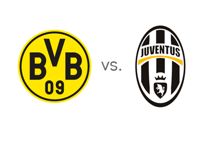 Borussia Dortmund vs. Juventus - Champions League matchup / odds / preview - Team logos / badges / crests
