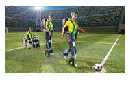 The Walk Again Project - 2014 World Cup Brasil - Opening Game Kick-Off - Illustration