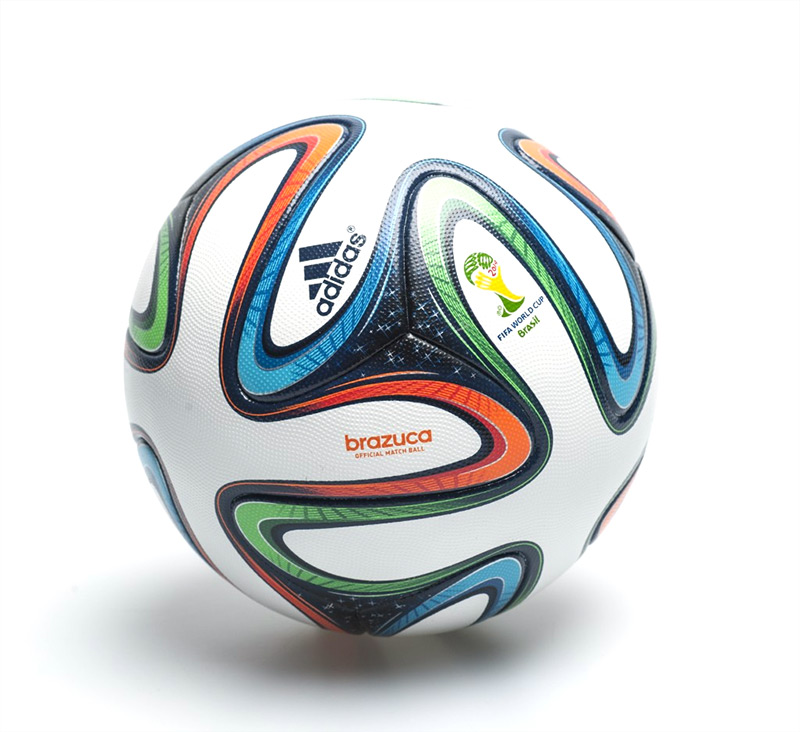 the brazuca - Official Ball of the 2014 World Cup in Brazil - Large Photo
