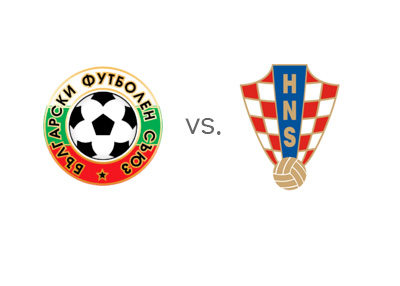 Euro 2016 qualifications - Bulgaria vs. Croatia - Matchup and Odds - Head to Head - Team Logos / Crests / Badges