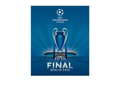 UEFA Champions League - Berlin 2015 - Final Game - Logo in blue