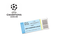 UEFA Champions League Ticket - Illustration