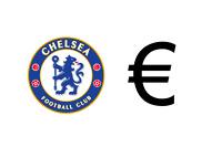 Chelsea FC Logo - Euro Symbol - Illustration