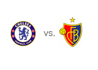 Chelsea vs. Basel - Matchup and Team Logos