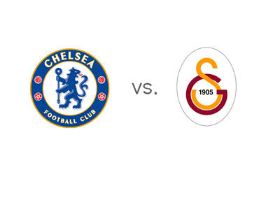 Chelsea vs. Galatasaray - UEFA Champions League Match - Team Logos