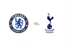 FC Chelsea vs. Tottenham - Matchup and Team Logos
