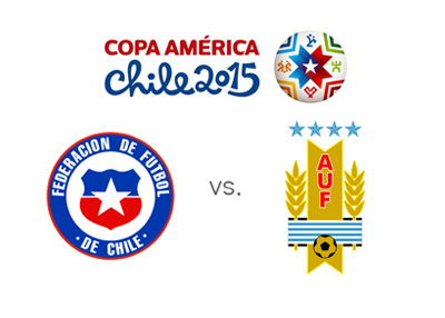 Copa America 2015 matchup - Chile vs. Uruguay - Odds and Preview - Team logos / crests