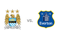 Man City vs. Everton - Matchup and Team Logos