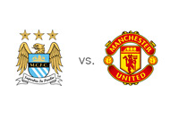 Manchester City vs. Manchester United - EPL - English Premier League - Matchup - Team Logos