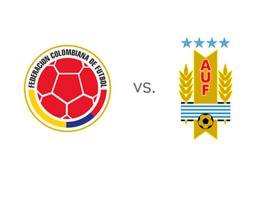 Colombia vs. Uruguay - FIFA World Cup - Matchup and Preview - Team Logos