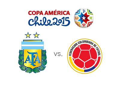 Argentina vs. Colombia preview / odds - Copa America 2015 - Matchup, tournament logo and team crests