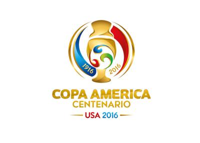 The tournament logo - Copa America 2016 - Centenario edition
