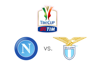 Italian Cup / Coppa Italia - Football Matchup - Napoli vs. Lazio - Team Logos / Odds / Preview