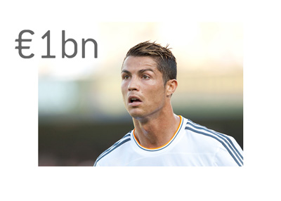 Cristiano Ronaldo - Real Madrid - €1 billion release clause - Photo
