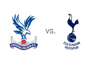 Crystal Palace Eagles vs. Tottenham Hotspur - Matchup and Team Crests