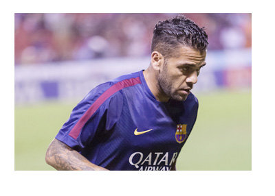 Dani Alves is on the move from Barcelona FC