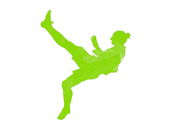 Dare to Zlatan - Nike Logo - Green Colour