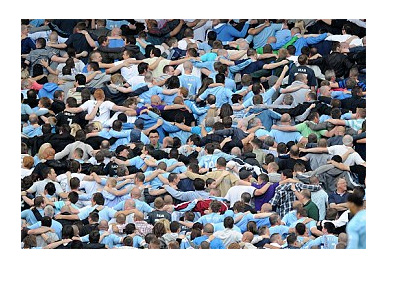 Poznan Celebration - Manchester City Dance